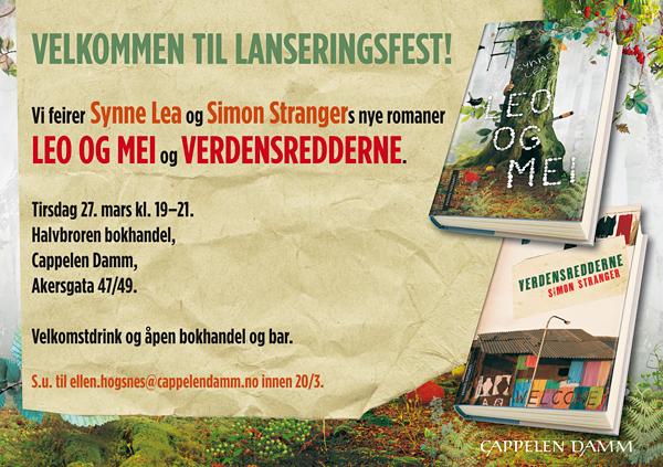 Synne Lea og Simon Stranger_invit.indd