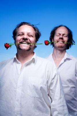 The Beautybag (duo): Richard Nygård and Morten Minothi. Photo: Lars Myhren Holand