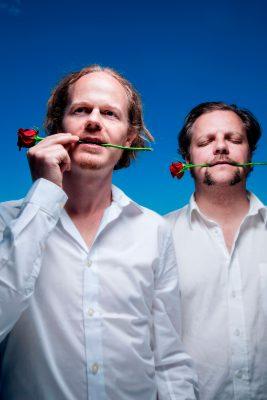 The Beautybag: Richard and Morten. Photo: Lars Myhren Holand